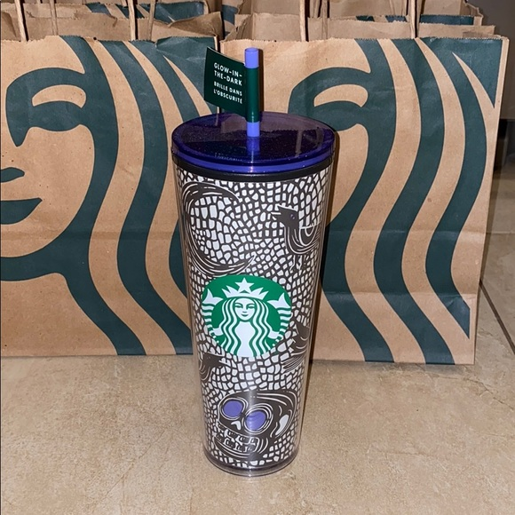 Starbucks Halloween Glow in the Dark